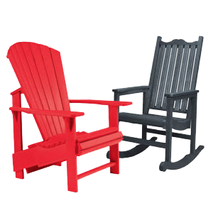 ECOvates - Plastic lumber chairs
